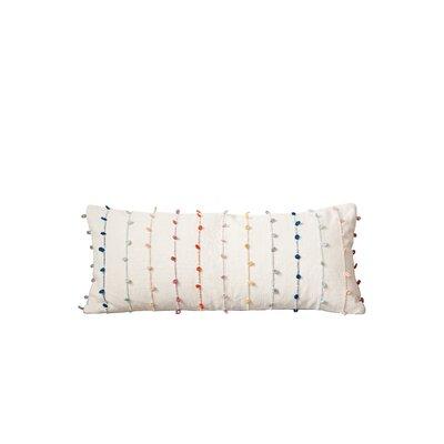 Amatrudo 100% Cotton Lumbar Pillow