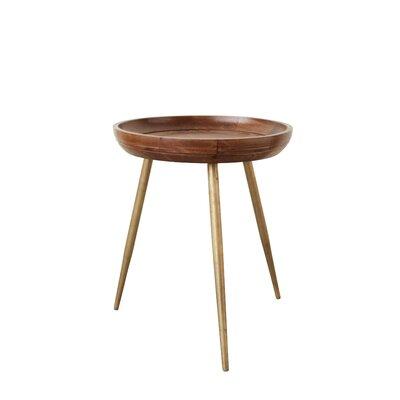 Boley Wood and Metal Tray Table