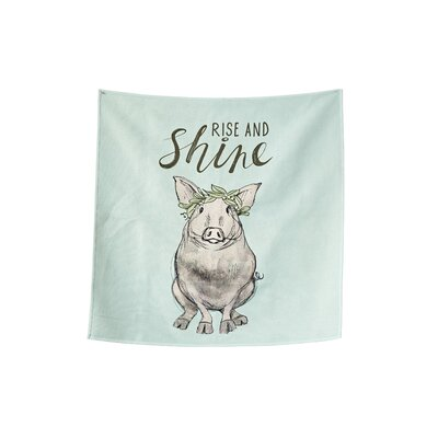 Billwise Printed Rise and Shine Mint Area Rug