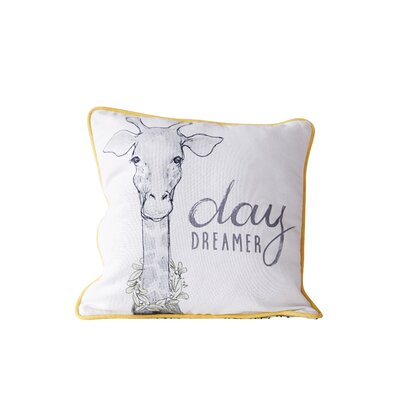 Herrod Day Dreamer Cotton Throw Pillow