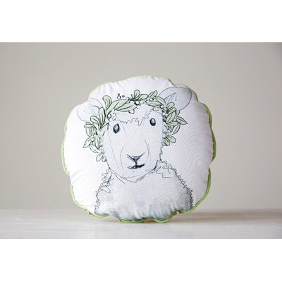 Hengrove Sheep Cotton Throw Pillow