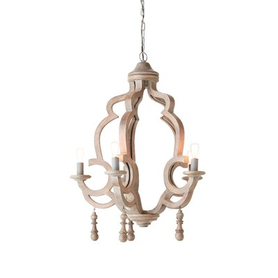 Gunilla 4-Light Mini Chandelier