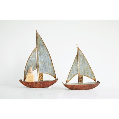 Witzel Sailboat Wall Shelf Size: 16.25