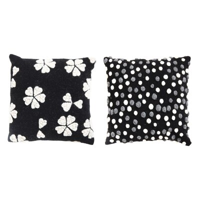 Ale 2 Piece Wool Throw Pillow Set