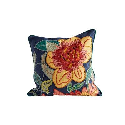 Hammonton Embroidered 100% Cotton Throw Pillow