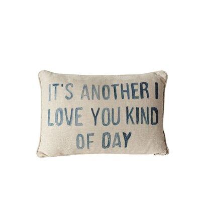 Deliah Its Another I Love You Lumbar Pillow