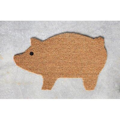 Dodson Natural Coir Pig Doormat