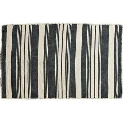 Smudge Natural/Black Area Rug