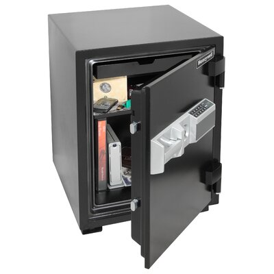 1 Hr Fireproof Electronic Lock Security Safe (2.13 Cubic Feet) Image 5072