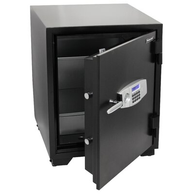 Resistant Dual Digital Key Lock Steel Fire Security Safe Cuft Product Image 16
