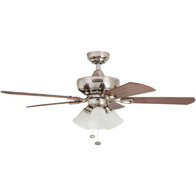 44 Springhill 5 Blade Ceiling Fan Motor Finish: Brushed Nickel