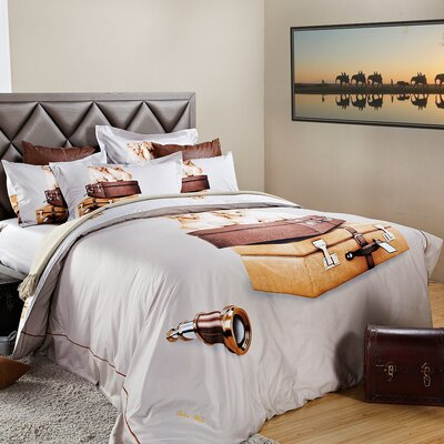 Best Friends Duvet Cover Set Size: Queen