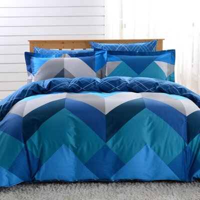 6 Piece Queen Duvet Cover Set