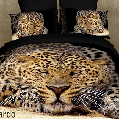 Ghepardo 6 Piece Full / Queen Duvet Cover Set