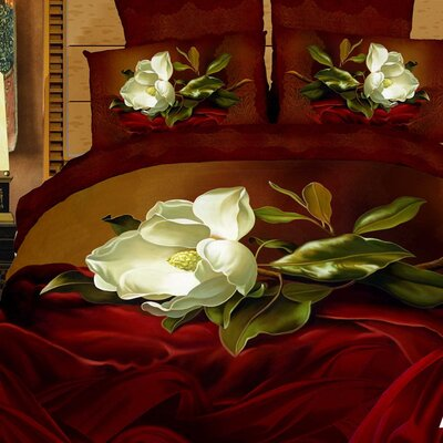 Dolce Mela Amore 6 Piece King Duvet Cover Set