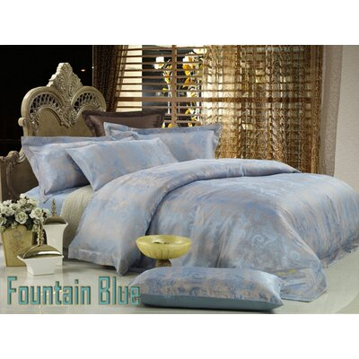 Dolce Mela Fountain-Blue Duvet Cover Set - Size: King at Sears.com