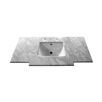 Counter 45 Single Bathroom Vanity Top