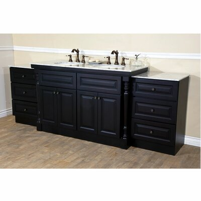 95 Double Bathroom Vanity Set