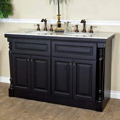55 Double Bathroom Vanity Set