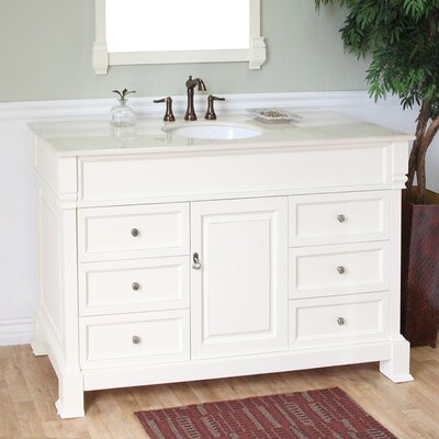 60 Single Bathroom Vanity Set