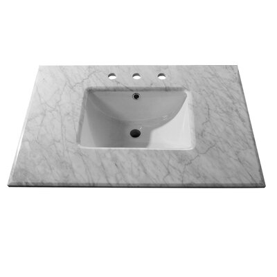 Counter 32 Single Bathroom Vanity Top