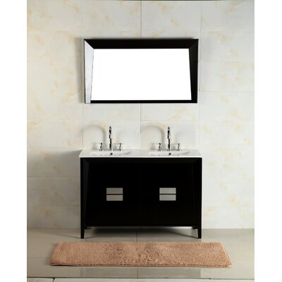 48 Double Sink Vanity Set