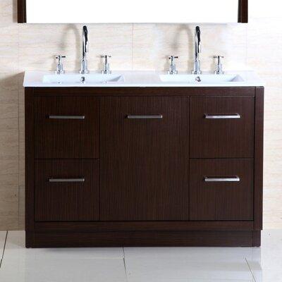 48 Double Sink Vanity Set