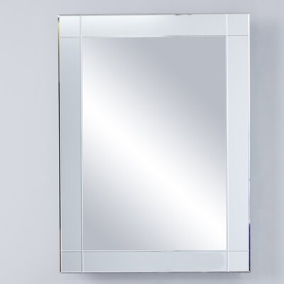22.25 x 30.25 Recessed or Surface Mount Medicine Cabinet