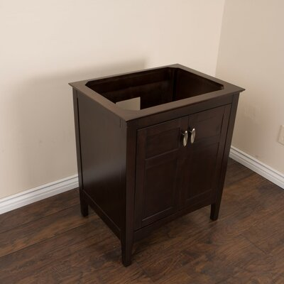 29 Single Bathroom Vanity Base Finish: Sable Walnut