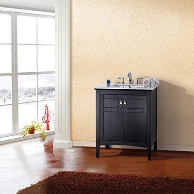 29 Single Bathroom Vanity Base Finish: Espresso
