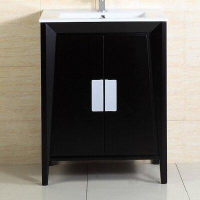 24 Single Sink Wood Vanity Set