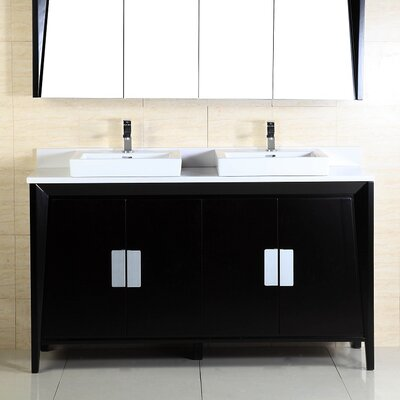 60 Double Sink Vanity