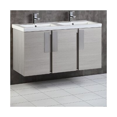 48 Double Bathroom Vanity Set