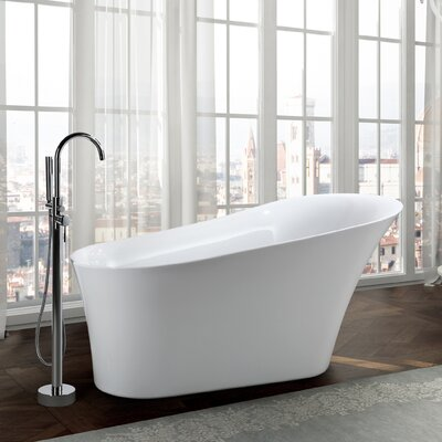 Arezzo 67 x 32 Freestanding Soaking Bathtub