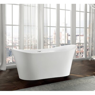 Bergamo 67 x 31 Freestanding Soaking Bathtub