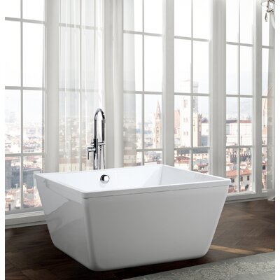 Bologna 47 x 47 Freestanding Soaking Bathtub