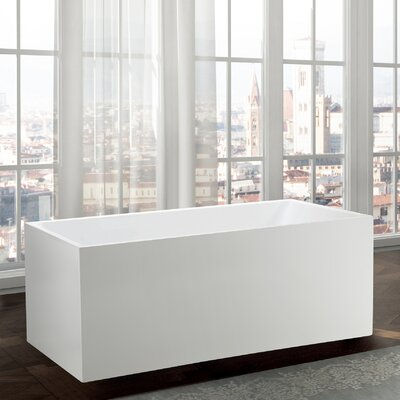 Catania 67 x 32 Freestanding Soaking Bathtub