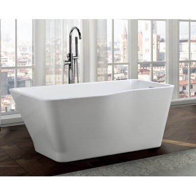 Florence 59 x 31 Freestanding Soaking Bathtub
