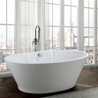 Lecce 67 x 38 Freestanding Soaking Bathtub