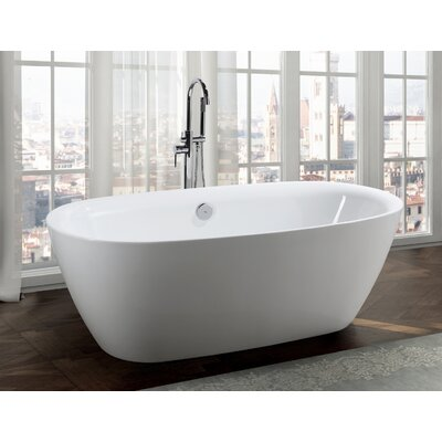 Palermo 67 x 32 Freestanding Soaking Bathtub