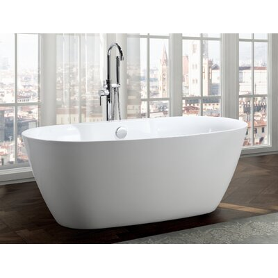 Pisa 63 x 31 Freestanding Soaking Bathtub