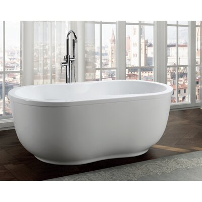 Brescia 65 x 34 Freestanding Soaking Bathtub