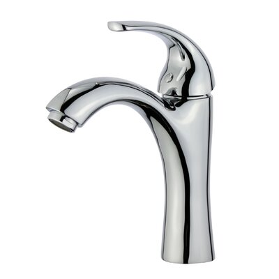 Seville Single Handle Bathroom Faucet with Drain Assembly Finish: Polished Chrome