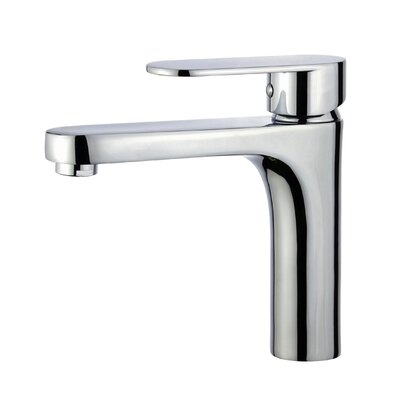 Donostia Single Handle Bathroom Faucet with Drain Assembly Finish: Polished Chrome