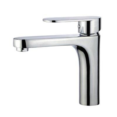Donostia Single Hole Single Handle Bathroom Faucet with Drain Assembly Finish: Polished Chrome