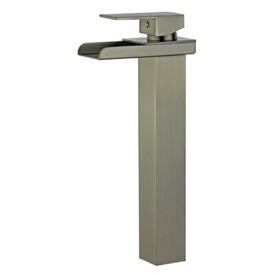 Oviedo Single Handle Bathroom Faucet with Drain Assembly Finish: Brushed Nickel