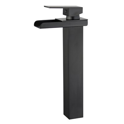 Oviedo Single Handle Bathroom Faucet with Drain Assembly Finish: New Black