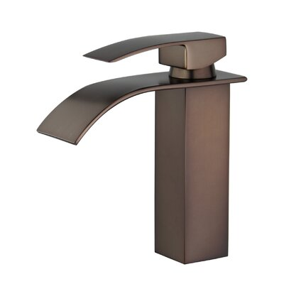 Santiago Single Handle Bathroom Faucet with Drain Assembly Finish: Oil Rubbed Bronze