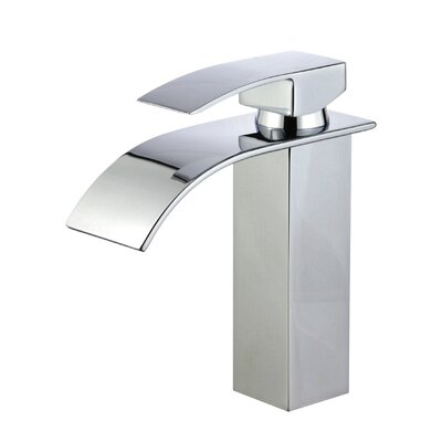 Santiago Single Handle Bathroom Faucet with Drain Assembly Finish: Polished Chrome