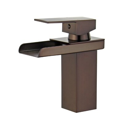 Pamplona Single Handle Bathroom Faucet with Drain Assembly Finish: Oil Rubbed Bronze